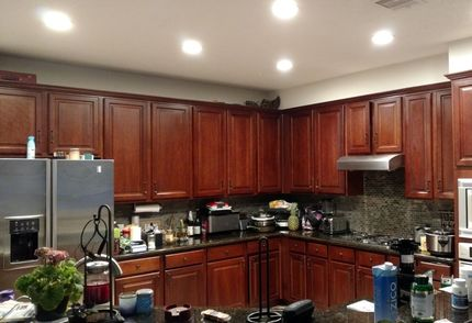 Before, During & After Kitchen Painting in Katy, TX (1)