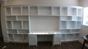Custom Built-ins for Office & Custom Chests for kKitchen in Sienna Plantation, TX (2)