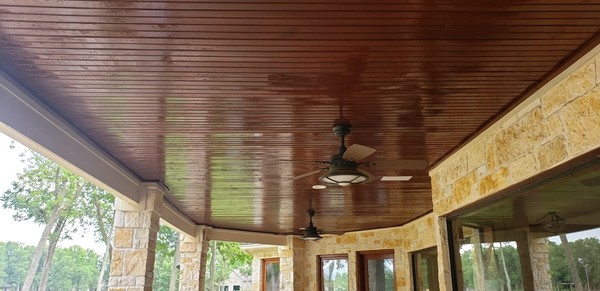 Ceiling Staining in Sugarland, TX (1)