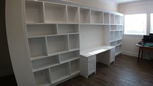 Custom Built-ins for Office & Custom Chests for kKitchen in Sienna Plantation, TX (1)
