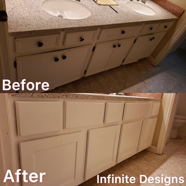 Cabinet Refacing & Painting in Houston, TX (1)